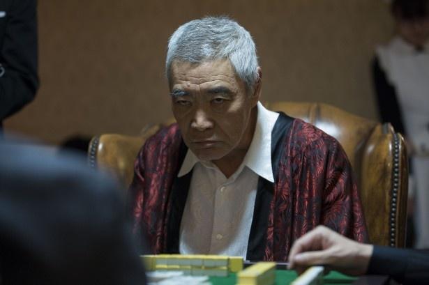 「麻雀編」に、カジノ王で日本最大パチンコチェーンの総帥・蔵前仁役の柄本明が登場