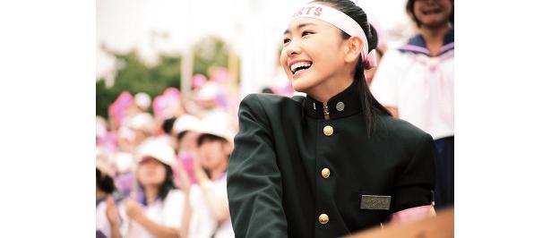新垣結衣の魅力あふれる青春映画「フレフレ少女」(C)2008「フレフレ少女」製作委員会