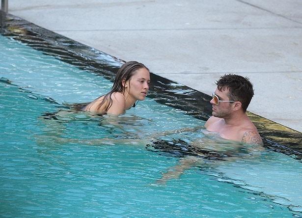 マイアミのビーチで楽しいひと時を過ごしたライアンとポーリーナの関係も終わった