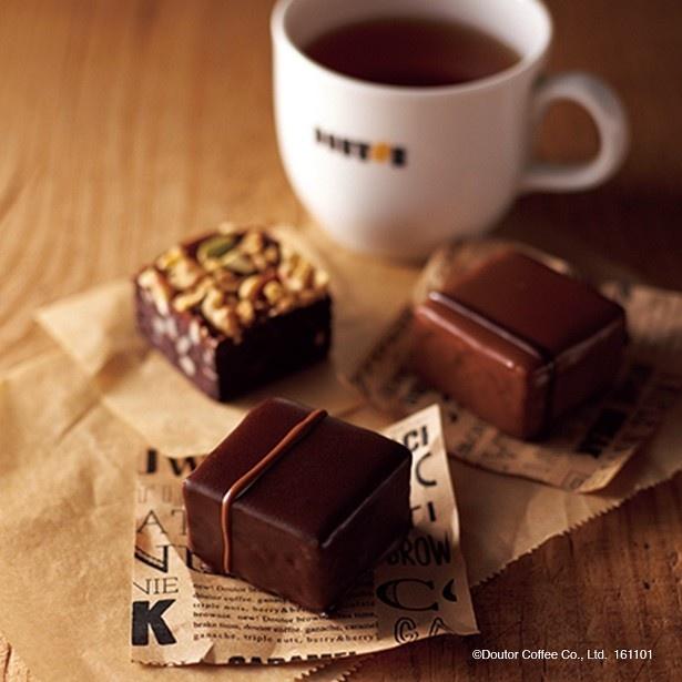 【写真を見る】ドトールコーヒーショップの新感覚スイーツ「ドトール ブラウニー」