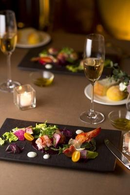 シェフの小川氏は日本料理とイタリア料理どちらも修行を積んでいる