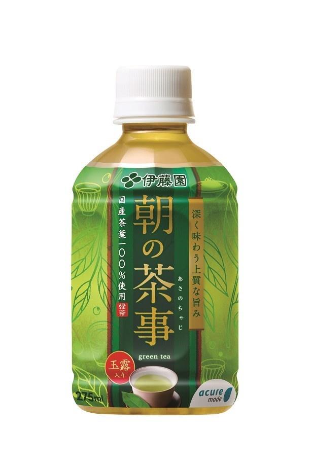 「朝の茶事275ml」(120円)
