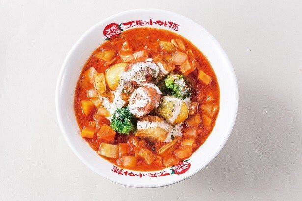 「ミネストラフォンデュベジトマ麺」(950円)
