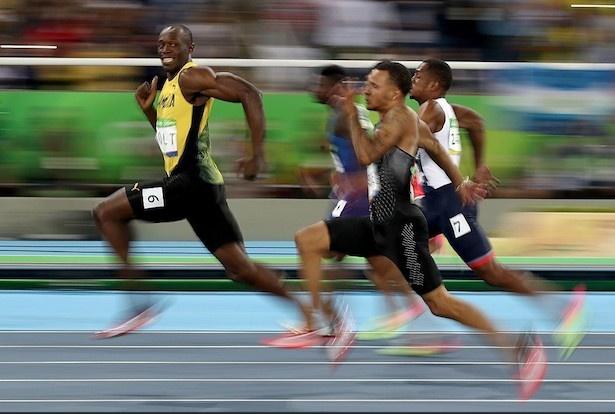 リオデジャネイロオリンピック2016 100m男子準決勝