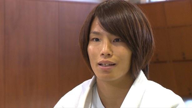 続いて、リオデジャネイロオリンピックで銅メダルを獲得した柔道・松本薫選手が登場