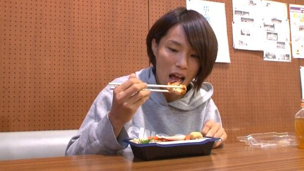 松本選手は、父との「おいしい記憶」について振り返る