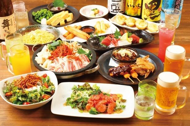 読者限定!名古屋驛麺通りのラーメンが1杯500円、居酒屋・バルのコースが半額に