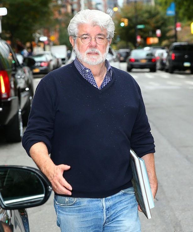 シリーズの生みの親であるジョージ・ルーカス