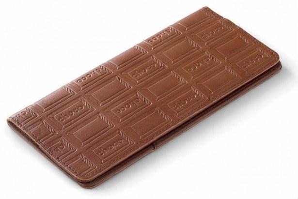 板チョコがそのまま放置されているようにしか見えない横長ケース