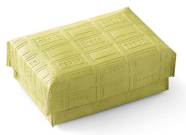 「ボックス」 サイズ:縦約9cm、横約13.5cm、高さ約5cm ふた:縦約9cm、横約14cm、高さ約3cm
