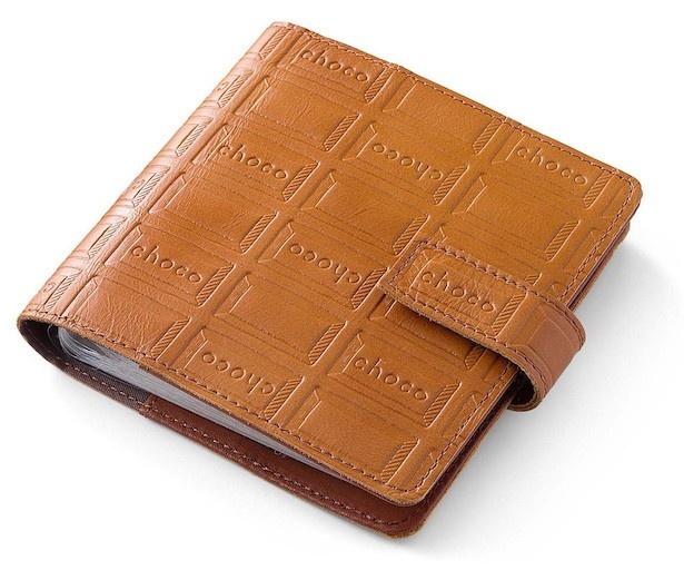 「カードファイル」 診察券やポイントカード、名刺をたっぷり100枚収納。サイズ/縦約14cm、横約14cm、まち幅約2.5cm