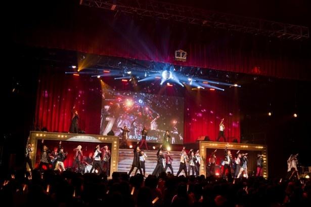 12月29日の公演の模様は、AbemaTVにて独占生中継された