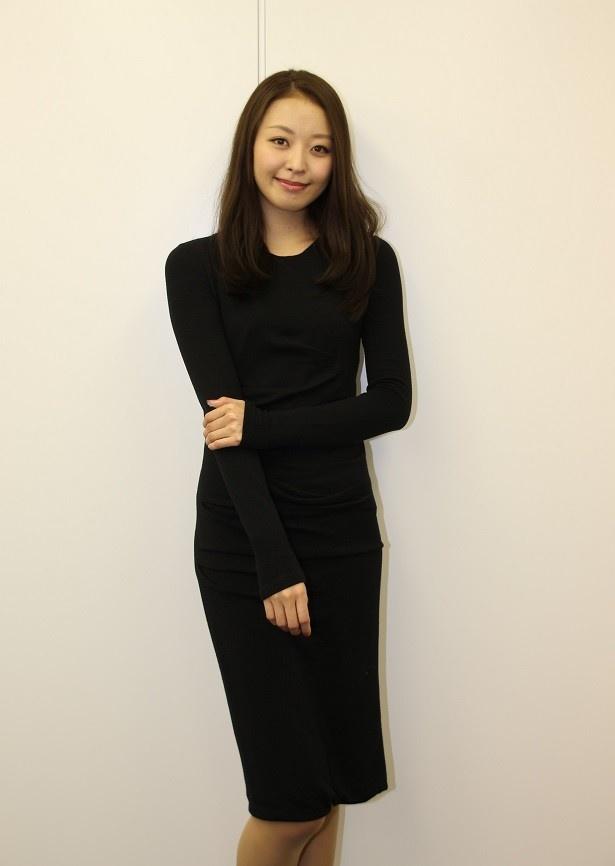 【写真を見る】中川知香、女優デビューについて「喜びと不安がありました!」