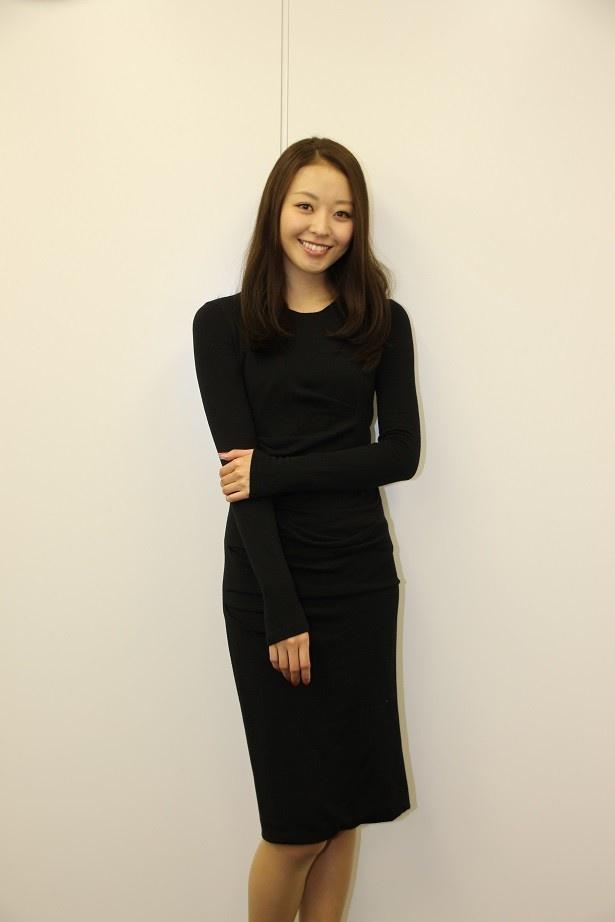 """'17年の抱負を「""""女優の中川知香""""として覚えていただけたら!」"""