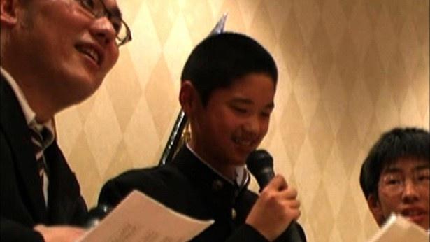 【写真を見る】学生時代の大谷選手の映像を初公開!