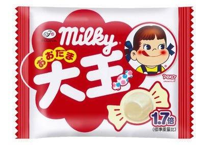 大玉のミルキーも発売中!「大玉ミルキー」(5粒/63円)