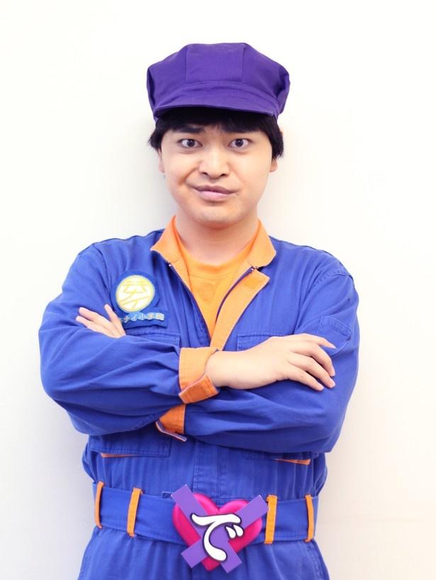 加藤諒は、出来内満太郎の衣装姿でインタビューの応じてくれた