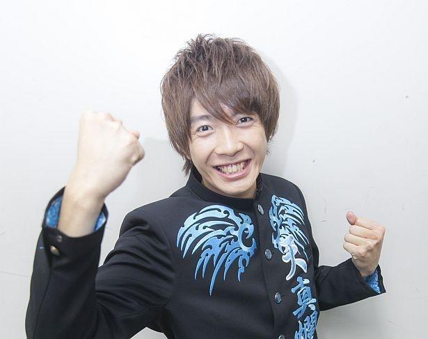 田村侑久(ゆきひさ)。テーマカラーは青色