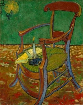 フィンセント・ファン・ゴッホ「ゴーギャンの椅子」 1888年11月、アルル 油彩・カンヴァス  ファン・ゴッホ美術館(フィンセント・ファン・ゴッホ財団)