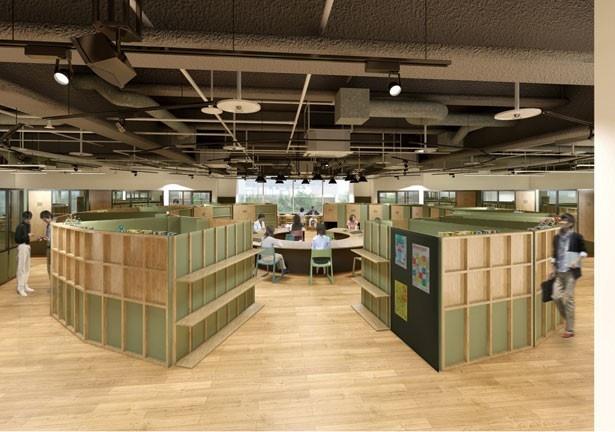 メンバー同士が適度な距離感で働くシェアオフィス/渋谷キャスト