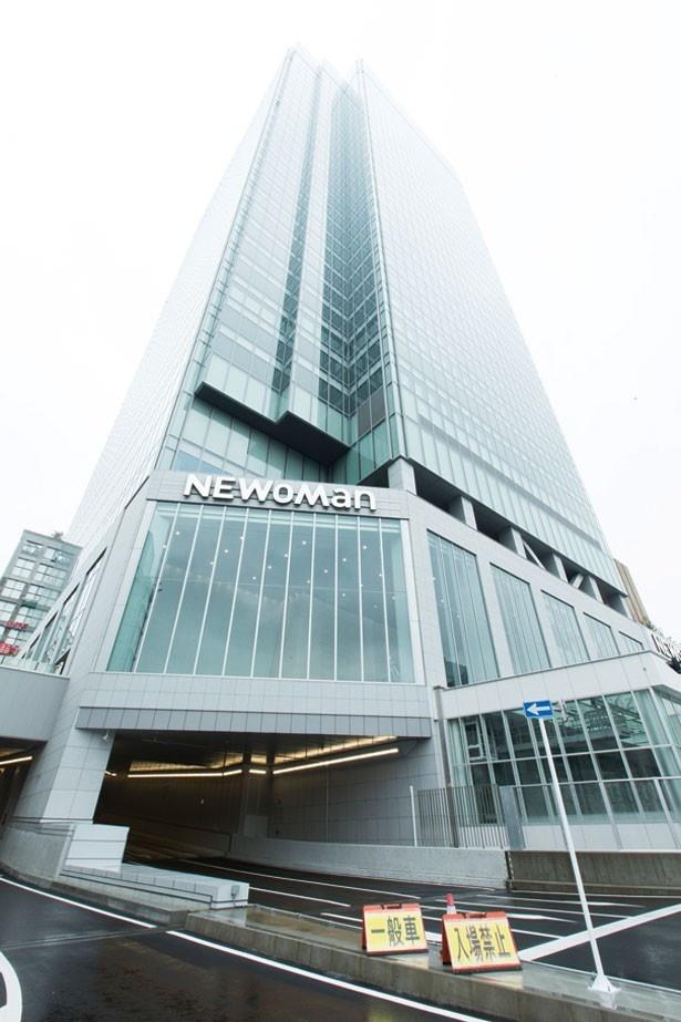 新宿駅新南口に誕生した新ランドマーク、NEWoMan。観光客にも人気だ