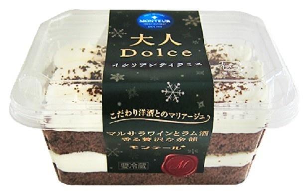 「大人 Dolce(ドルチェ)・イタリアンティラミス」(237円/沖縄のみ280円)