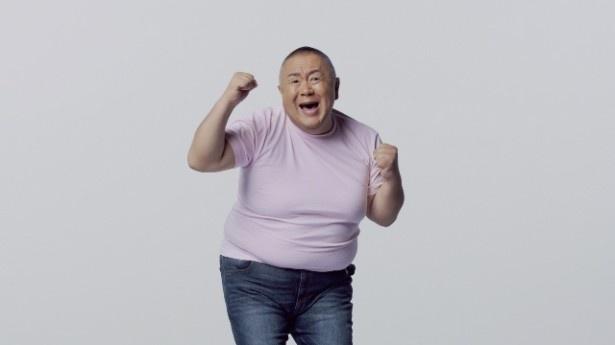 【写真を見る】現在の松村邦洋の体重は110kg。どこまで痩せられるのか?