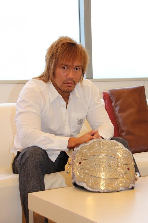 「WRESTLE KINGDOM 11 in 東京ドーム」への意気込みを語る内藤哲也選手