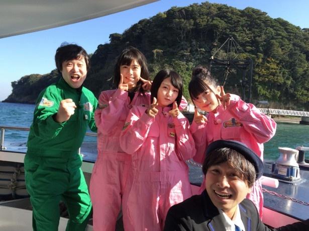'17年最初の「AKB48チーム8の あんた、ロケロケ!」は東京湾唯一の無人島で釣り&BBQ体験!