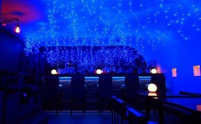 店内の天井を青一色のLED(約2000球)で装飾したイベント、サンタマルミナリエ「吉祥寺 青の洞窟 2016」を冬季の限定企画として開始