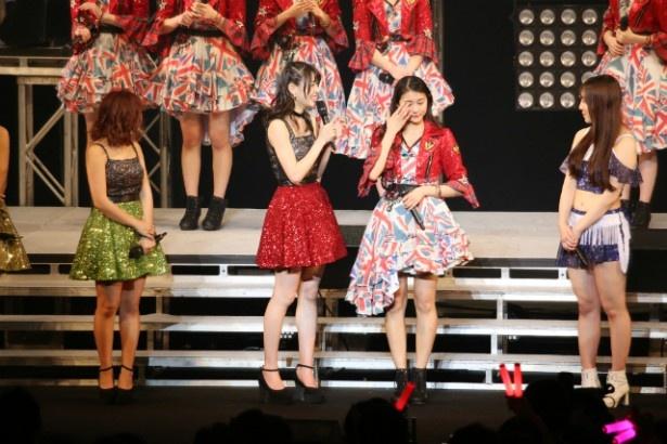 ハロー!プロジェクトのカウントダウンコンサートで、新リーダー・あやちょ(アンジュルム・和田彩花)、サブリーダー・ふくちゃん(モーニング娘。'16・譜久村聖)が任命された
