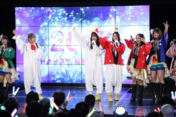 名古屋・栄のSKE48劇場で「SKE48 カウントダウン公演 2016→2017」が行われた