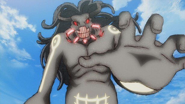「双星の陰陽師」第38話場面カット公開。鳴神町を救うため、巨大ケガレに挑む!