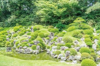 「龍潭寺の庭園」(静岡県・浜松市)