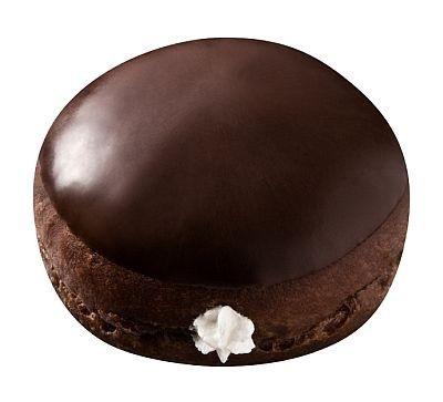 口溶けのよいショコラ生地にエンゼルクリームが入ったリッチドーナツショコラ「チョコエンゼル」