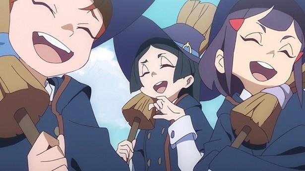 TVアニメ「リトルウィッチアカデミア」第1話の先行カット到着。アッコの魔女への第一歩が始まる!