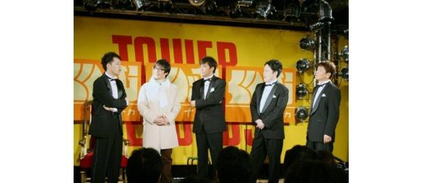 DVD発売記念イベントには、シークレットゲストとしてニセヨン様も登場!