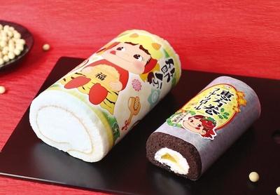 不二家洋菓子店では、1月下旬から2月3日(金)の節分まで、節分にちなんだ洋菓子を発売