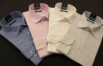 同時発売のセミワイドシャツはなんと800円!