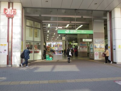 西荻窪は吉祥寺から1駅、新宿からも15分と都心へのアクセスは良好