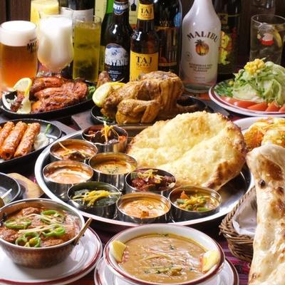 コース料理も充実している「シタル西荻本店」は、三鷹に2号店がある
