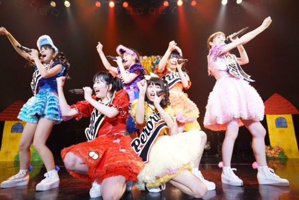 ベボガ!(虹のコンキスタドール黄組)が、1stワンマンライブ「ベボガガ!~エピソード2~」を開催した