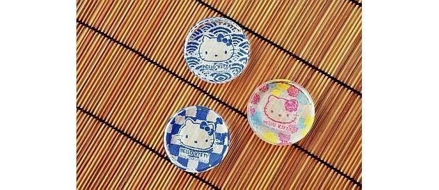 上越クリスタル硝子・月夜野工房 箸置き(924円〜)