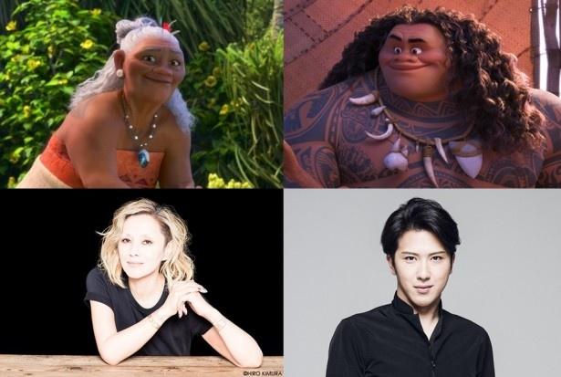 ディズニー・アニメーションでの声優は初挑戦となる夏木マリと尾上松也