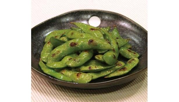 定番!「焼き枝豆」も290円(税込み)