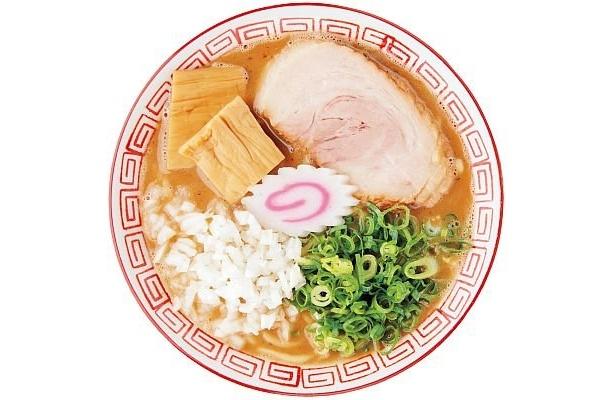 「濃厚中華そば・つけ麺 なおじ」の中華そば(750円)