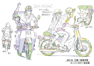作画監督の安藤雅司によるキャラクター設定票