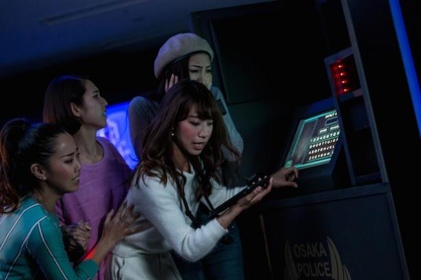 ゲストがコナンの危機を救い、協力しあって謎を解決するオリジナル・ストーリー(画像提供:ユニバーサル・スタジオ・ジャパン)