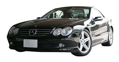 ベンツ SL500ほか、現行SL63AMGもある/プレミアムレンタカー