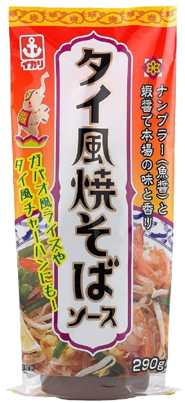 タイ料理を家庭で味わえる新しい焼きそばソース「イカリ タイ風焼そばソース290」(標準小売価格・税抜き260円)が新発売!